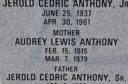 Audrey <i>Lewis</i> Anthony