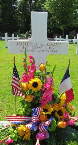 Pvt Joseph H G Grant