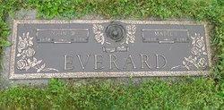 Mabel Irene <i>Scouten</i> Everard