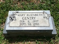 Mary Elizabeth <i>Strickland</i> Gentry