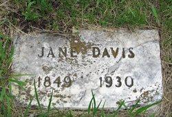 Nancy Jane <i>James</i> Davis