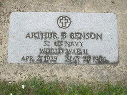 Arthur B Benson