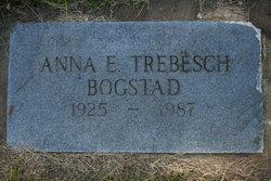 Anna E <i>Trebesch</i> Bogstad