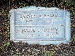 Myrtle Maude Maude <i>Johnston</i> Halsey