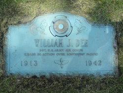 Sgt William Just Dee