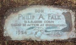 Pvt Philip A Falk
