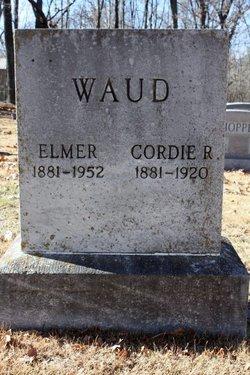 Cordie R Waud