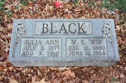 Julia Ann <i>Haley</i> Black