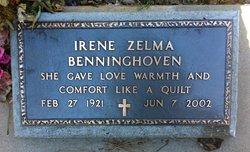 Irene Zelma <i>Burgess</i> Benninghoven