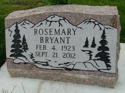Rosemary <i>Douglas</i> Bryant