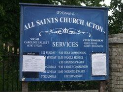 All Saints Churchyard, Acton