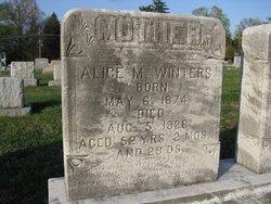 Alice M Winters