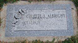 Colette J <i>Monty</i> Albright