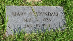 Mary E Arendall