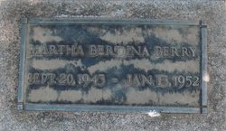 Martha Berdeania Dena Berry