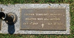 Leetha <i>Starling</i> Hopkins