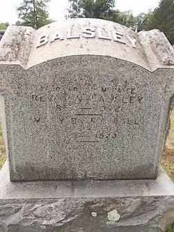 Mary D. <i>Trumball</i> Balsey