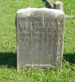 Hortense <i>Dickens</i> Anderson