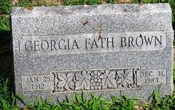 Georgia <i>Fath</i> Brown