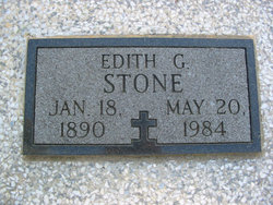 Edith Gertrude <i>Skaggs</i> Stone