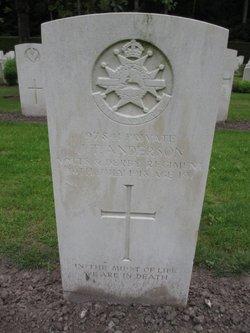 Private John Thomas Anderson