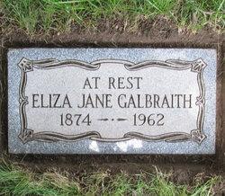 Eliza Jane Galbraith