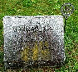 Margaret M Horton