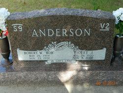 Violet Judith <i>Eklund</i> Anderson
