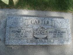 Rosalia July <i>Davis</i> Carter