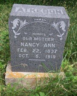 Nancy Ann <i>Carpenter</i> Atkeson