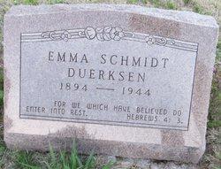Emma <i>Schmidt</i> Duerksen