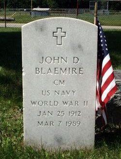 John Daniel Jack Blaemire