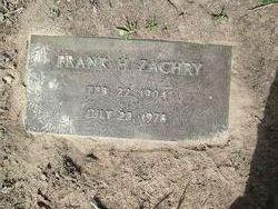 Frank Howell Zachry, Sr