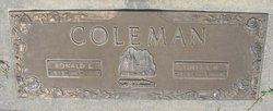 Ronald Ernest Coleman
