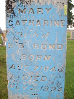 Mary Catherine <i>Roe</i> Bond