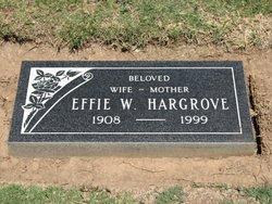 Effie Pearl <i>Wright</i> Hargrove