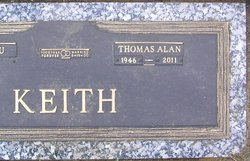 Thomas Alan Tom Keith