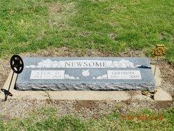 Gertrude A. <i>Stratmann</i> Newsome