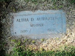Altha D Auwarter