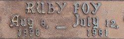 Ruby Myrtle <i>Foy</i> Beard