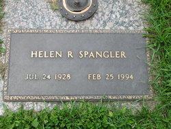 Helen R <i>Harvey</i> Spangler