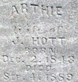 Martha Arthie <i>Norris</i> Hott