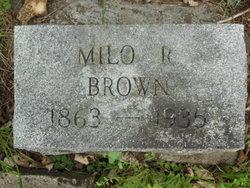 Milo R. Brown