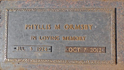 Phyllis M <i>Port</i> Ormsby