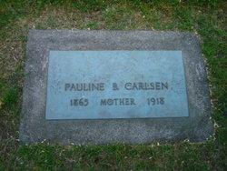 Pauline <i>Larson</i> Carlsen
