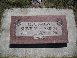 Ella Dallas <i>Shively</i> Bergh
