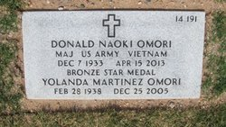 Col Donald Naoki Omori