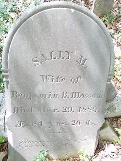 Sally M. <i>Reed</i> Blossom