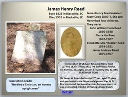 James Henry Reed