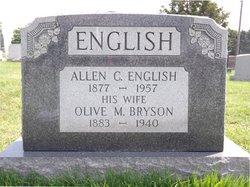 Olive M <i>Bryson</i> English